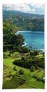 Road To Hana Beach Towel