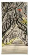 Road To The Throne Beach Towel