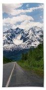 Road To Valdez Beach Towel