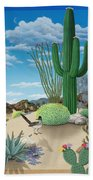 Roadrunner Beach Towel