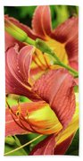 Roadside Lily Beach Towel