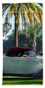 Roadster At The Castle Beach Towel