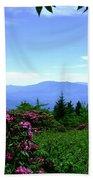 Roan Mountain Rhododendron Gardens Beach Towel