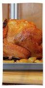 Roast Turkey Beach Towel