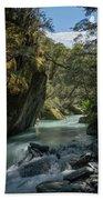 Rob Roy Stream New Zealand Beach Sheet