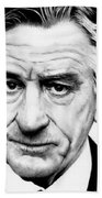 Robert Deniro  Beach Towel