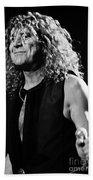 Robert Plant-0039 Beach Towel