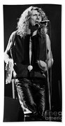 Robert Plant-0064 Beach Towel
