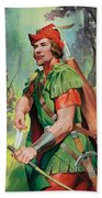Robin Hood Beach Towel by James Edwin McConnell