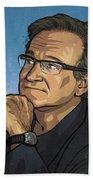 Robin Williams Beach Sheet