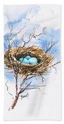 Robin's Nest Beach Towel