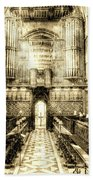 Rochester Cathedral Vintage Beach Towel