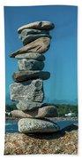 Rock Art A Memory Beach Towel