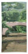 Rock Creek Bridge 5 Beach Towel