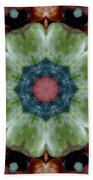 Rock Flower Beach Towel