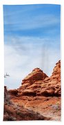 Rock Formations At Kodachrome Basin State Park, Usa Beach Towel