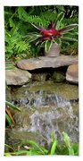 Rock Fountain IIi Beach Towel