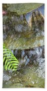 Rock Fountain Beach Towel