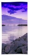 Rock Jetty Sunrise Beach Sheet