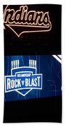 Rock N Blast 10th Anniversary Beach Towel
