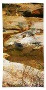 Rock Pattern Beach Towel