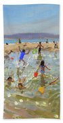 Rock Pool, Tenby Beach Towel