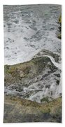 Rock Water Beach Towel