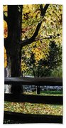 Rockford In Autumn Beach Towel