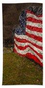 Rockin' The Flag Beach Towel