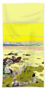 Rocky Beach Beach Towel