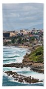 Rocky Coast Of Puerto Rico Beach Towel