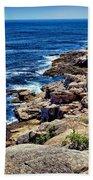 Rocky Coastline 1 Beach Towel