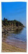 Rocky Coastline Beach Towel
