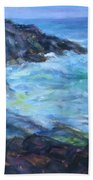 Rocky Creek Viewpoint Beach Towel