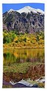 Rocky Mountain Reflections - Telluride - Colorado Beach Sheet