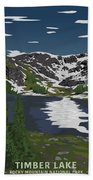 Rocky Mountain Beach Towel
