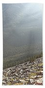 Rocky Mountain Sunbeam II Beach Towel