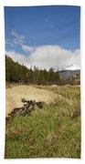 Rocky Mountain Valley Beach Towel