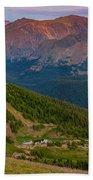 Rocky Mountain Wilderness Beach Towel