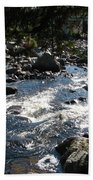 Rocky Rapids Beach Towel