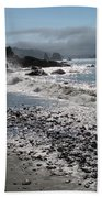 Rocky Shores Beach Towel
