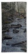 Rocky Stream Beach Towel