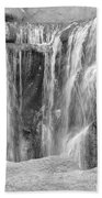 Rocky Waterfall Beach Towel