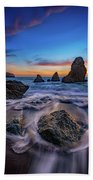 Rodeo Beach Sunset Beach Towel