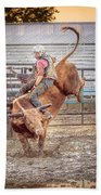 Rodeo Cowboy Beach Towel
