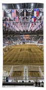 Rodeo Time In Texas Beach Towel