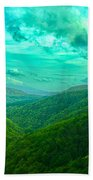 Rolling Hills Of Italy Beach Towel