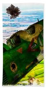 Linebacker II - The Thud - Water Color Beach Sheet