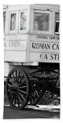 Roman Candy - Bw Beach Towel
