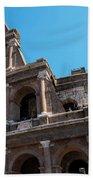 The Colosseum Of Rome Beach Towel